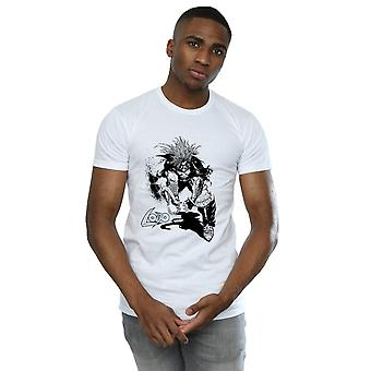 DC Comics Men's Lobo Sketch T-Shirt