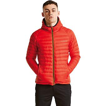 Dare 2 b Mens soudure eau imperméable Nylon Hooded Down Jacket Top