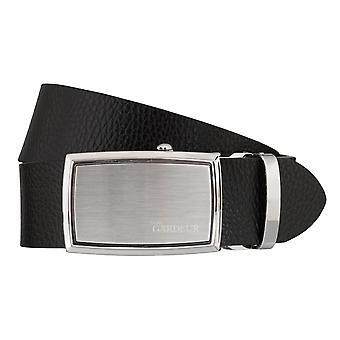Ceintures cuir ceinture boucle automatique noir atelier GARDEUR ceintures homme 5398