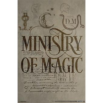 Harry Potter - Ministry of Magic Poster Print