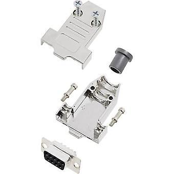 encitech DTNT09-M-DBS-K 6355-0070-21 D-SUB opvangbakje set 180 ° aantal pinnen: 9 soldeer emmer 1 set