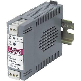TracoPower TCL 024-105 Rail gemonteerde PSU (DIN) 5 V DC 4 A 24 W 1 x