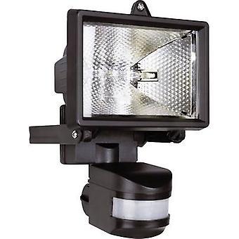 Smartwares ES120 Outdoor floodlight (+ motion detector) HV halogen 120 W R7s Black
