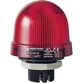 ضوء ورما سيجنالتيتشنيك 815.100.00 أحمر بدون توقف الإشارات الخفيفة 12 V AC، 12 فولت تيار مستمر، 24 V AC، 24 فولت تيار مستمر، 48 V AC، 48 فولت تيار مستمر، 110 V AC، 230 V AC