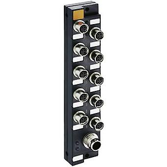 Lumberg أتمتة ASBSM 10/LED3 65348 جهاز الاستشعار ومربع المشغلات (السلبي) M8 مقسم + الصلب الموضوع 1 pc (ق)