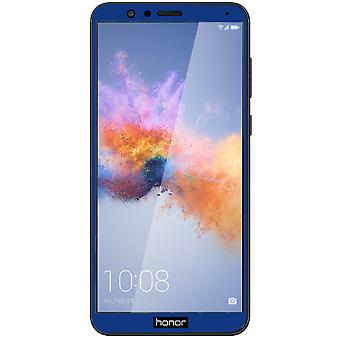 Screen protector for Honor 7X, Tempered Glass with blue edges - 9H hardness