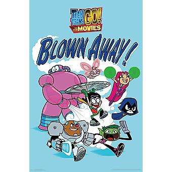 Teen Titans Movie - Blown Away Poster Print