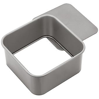 Judge Bakeware, Square Cake Tin, Loose Base, 15 X 15 X 7cm, (6 X 6 X 2�inch)