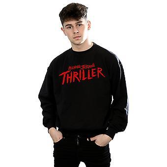 Michael Jackson mænds Thriller Logo Sweatshirt