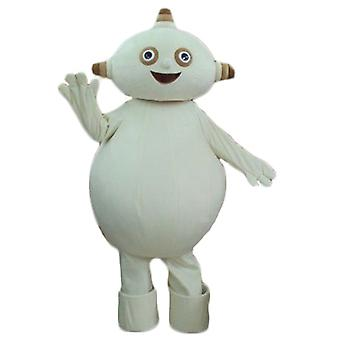 SPOTSOUND of beige, plump and funny alien mascot