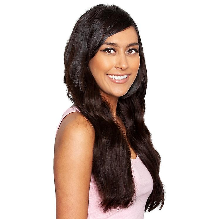 #2 Intense Dark Brunette - Clip-in Hair Extensions - Full Head - Deluxe