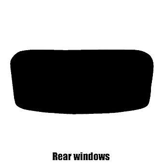 Pre gesneden venster tint - Vauxhall Corsa Van - 2014 en nieuwer (E) - Rear windows
