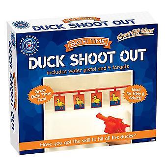 Pistola de agua de baño pato tire hacia fuera baño novedad juego divertido juego regalos de