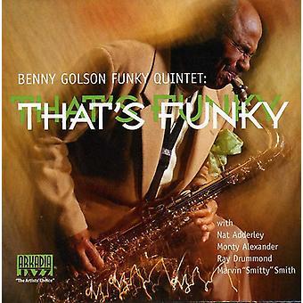 ベニー ・ ゴルソン - ファンキー [CD] USA 輸入であります。