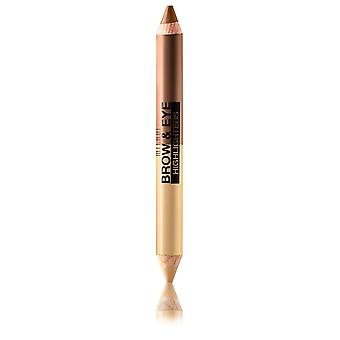 Milani Brow & Eye Highlighter-03 Vanilla/Natural Taupe