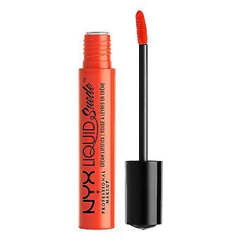 NYX PROF. MAKEUP Liquid Suede Cream Lipstick - Orange County