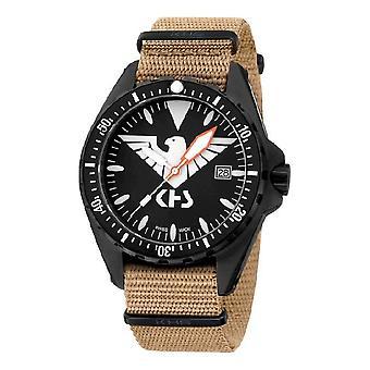 KHS MissionTimer 3 mens watch zegarki Eagle jeden KHS. M-CY. NT
