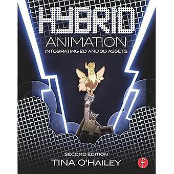 Hybride animatie: Integratie van 2D- en 3D-activa