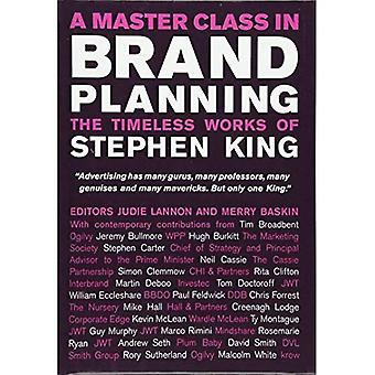 Een Master Class in de Planning van het merk: de tijdloze werken van Stephen King