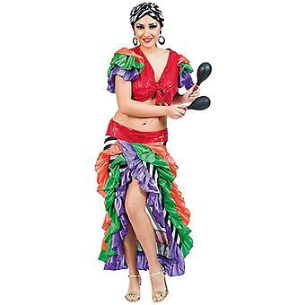 Brasilialaisen Samban tanssija puku hyvät Rio Brasilia GR 42 tanssija puku