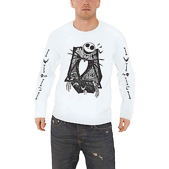 The Nightmare Before Christmas T shirt Jack Crossed Arms Official Long Sleeve