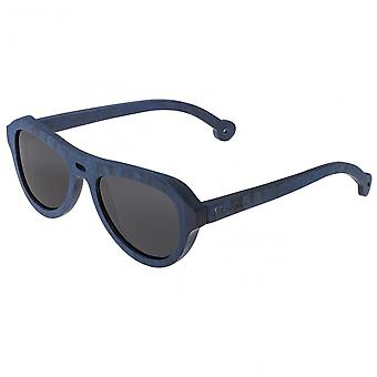 Spectrum Machado Wood Polarized Sunglasses - Blue/Black