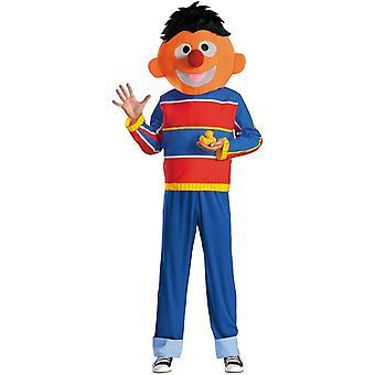 Sesamstraat Ernie Adult kostuum