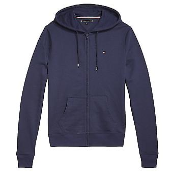 Tommy Hilfiger Zip-Thru HWK Hoodie, Navy, X-Large