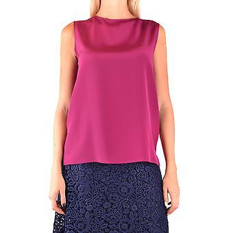 Alberto Aspesi Ezbc067098 Femmes-apos;s Fuchsia Silk Top