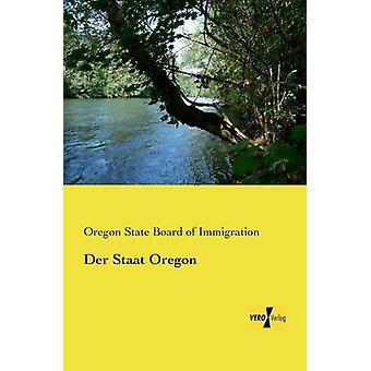 Der Staat Oregon av styrelsen för invandring & Oregon State