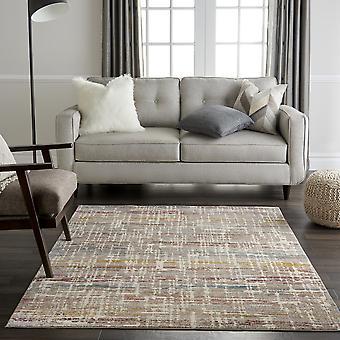 Rad08 de alfombras radiantes en marfil y Multi por Nourison