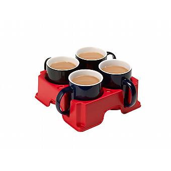 Red Muggi - Nonslip drink tray
