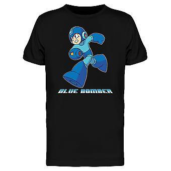 Mega Man Capcom Blue Bomber Miesten T-paita