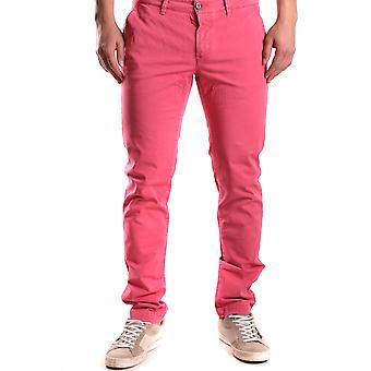 Etiqueta Negra Ezbc183015 Men's Red Cotton Pants