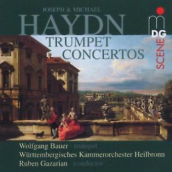 J. Haydn - Joseph & Michael Haydn: Trumpet Concertos [CD] USA import