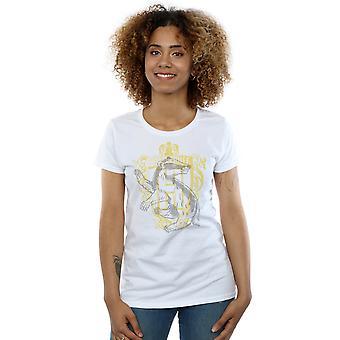 Harry Potter Women's Hufflepuff Badger Crest T-Shirt