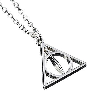 Harry Potter Sterling Silver relieken van de dood ketting