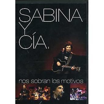 Joaquin Sabina - Sabina Y Cia-Nos Sobran Los Motivos [DVD] USA import