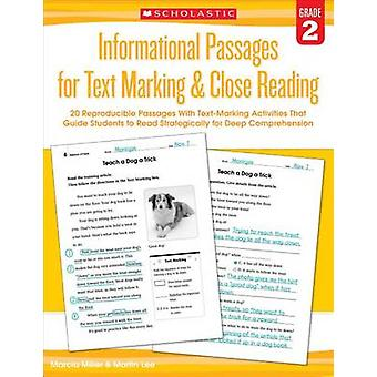 Informational Passages for Text Marking & Close Reading - Grade 2  - 20