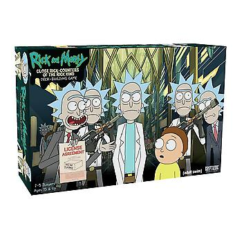 Morty Close Rick-Counters of Deck-Building Game Family Board