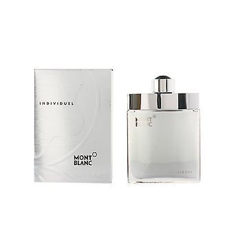 Montblanc individuellt Edt Spray 75 Ml för män