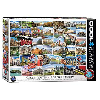Globetrotter Royaume-Uni 1000 pièce Jigsaw Puzzle 680mm x 490mm (PZ)