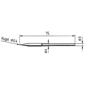 Ersa 212 BD LF Soldering tip Pencil-shaped Tip size 0.4 mm Content 1 pc(s)