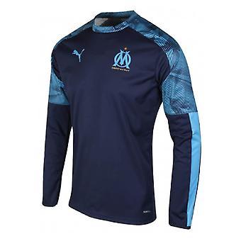 2019-2020 Marseille Training Crew Sweat (Peacot)