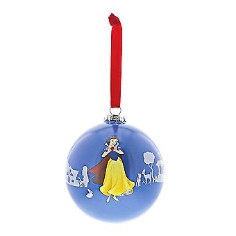 Disney Bezaubernde Sammlung 'Die kleine Prinzessin' Schneeweiß Weihnachtskugel