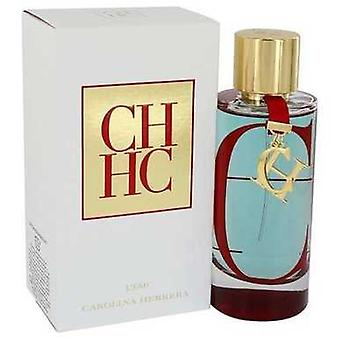 CH L'eau by Carolina Herrera Eau de Toilette Spray 3,4 oz (naiset) V728-542123
