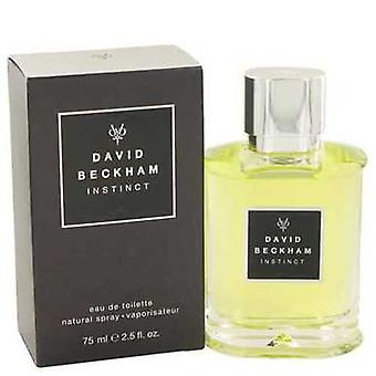 David Beckham instinct door David Beckham Eau de Toilette Spray 2,5 oz (mannen) V728-420574