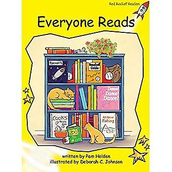 Iedereen leest (rode raket lezers)