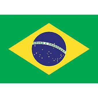 5 x 3 ft Flag - Brasile