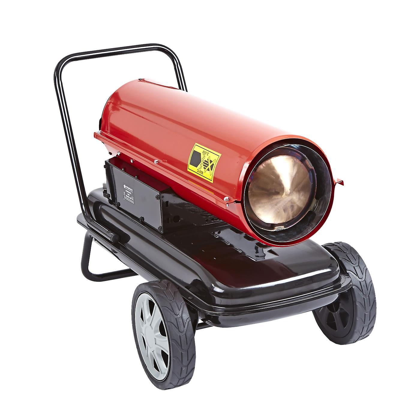 Industrial Diesel Paraffin Space Heater Workshop Garage Warmer